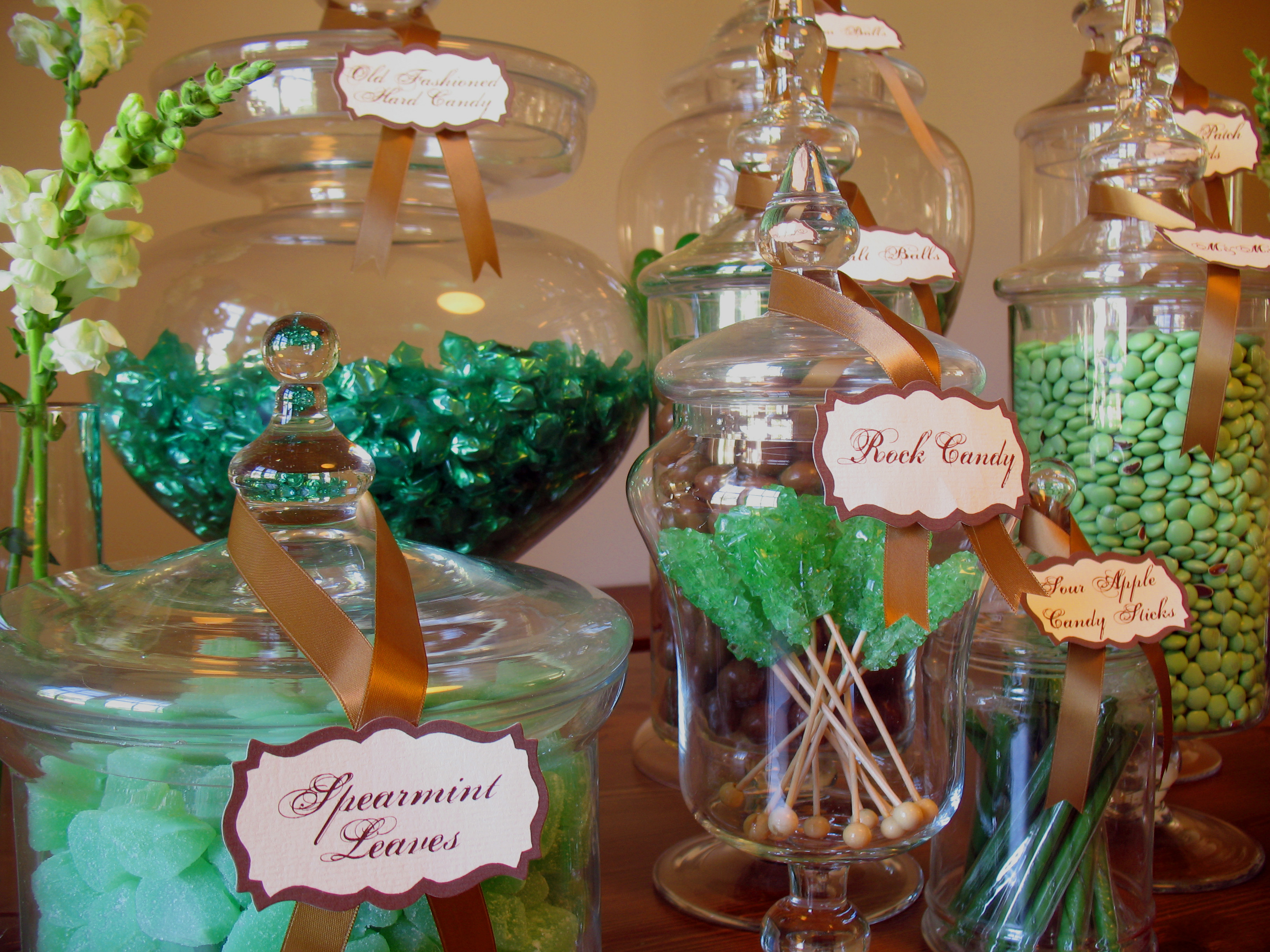 Enchanted Forest Candy Buffet